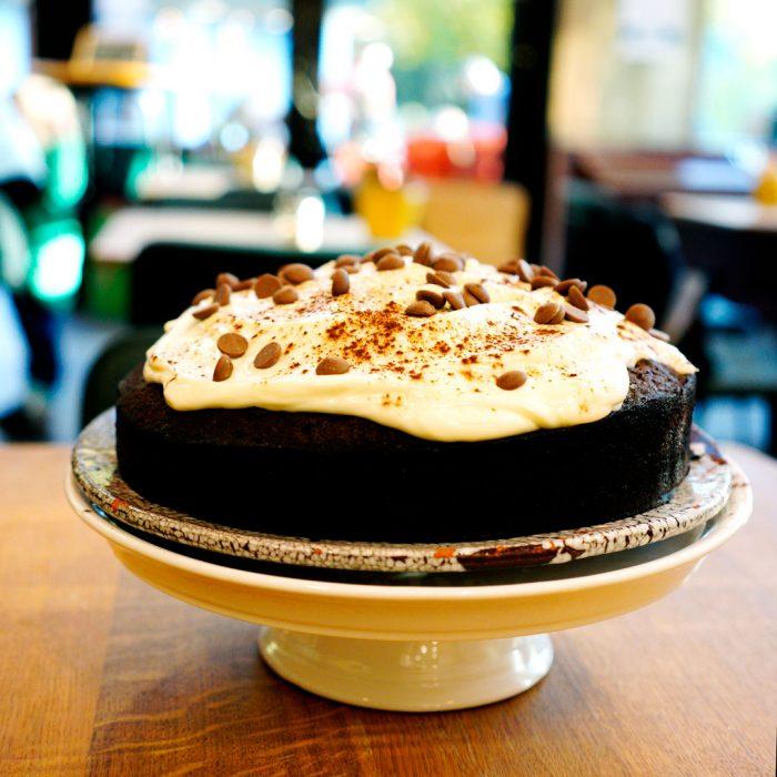 Dessert fait maison à la Laiterie