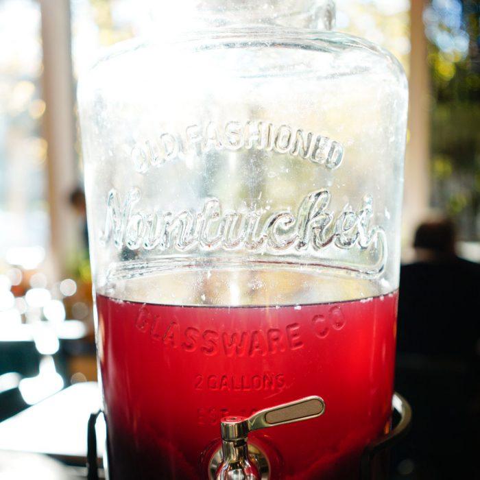 limonade maison à la Laiterie