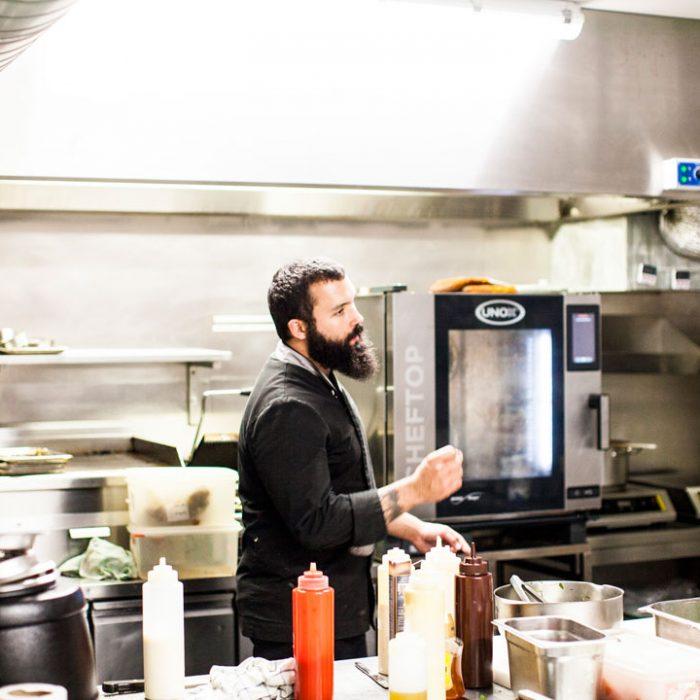 Chef cuisinier de la Laiterie